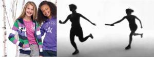 اعلان رياضي عن بدء تسجيل للتدريب للفتيات في رياضات ألعاب القوى