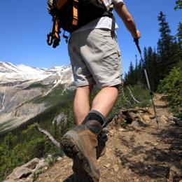Amateur de randonnées pédestres