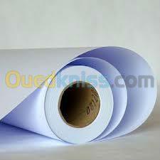 vente bobines de papier et calque pour copieurs et traceurs de plan