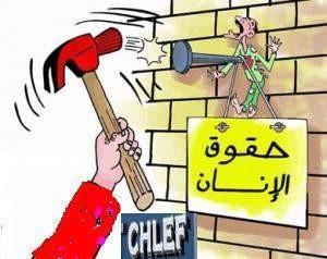 le prix des droits de l'Homme dans la wilaya de CHLEF