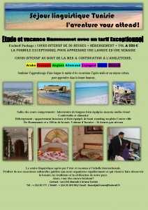 s�jour linguistique Tunisie