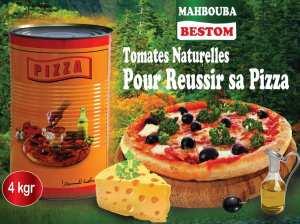 Tomate triturée pour Pizza