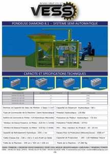 Compact Diamond 12.1 : Parpaineuse Automatique, Pondeuse Automatique de Parpaing, Centrale a Beton