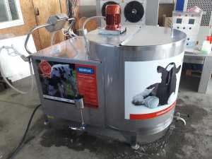 ماكينة بسترة الحليب لتغذية العجول