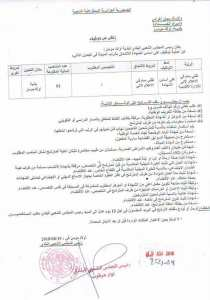 Offre emploi a Tlemcen