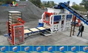🔹🔸 Machine a fabrication de Pavé en Bloc de béton 🔹🔸