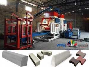 🔸 Machine a fabrication de Parpaing - Pavé - Bordure | Automatique 🔹