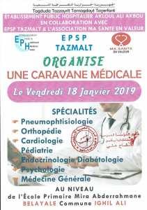 Caravane médicale à Ighil Ali
