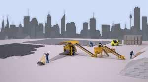 Machine a fabrication de parpaing - Bloc beton - Pavé - Bordure | SEMi - AUTO