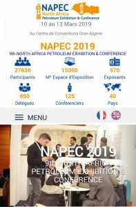 NAPEC : North Africa Petreliom Exhibition et Conference
