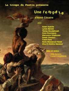 AVR 20 Théâtre : Une Tempête Public · Organisé par L'Association Culturelle