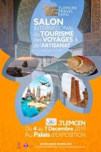 TLEMCEN : Le 1er Salon International du Tourisme, des Voyages, et L'Artisanat ..... RDV Décembre 2019