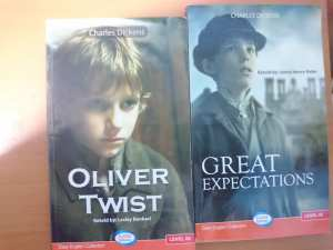 livres en Anglais facile: oliver twist and great expectations
