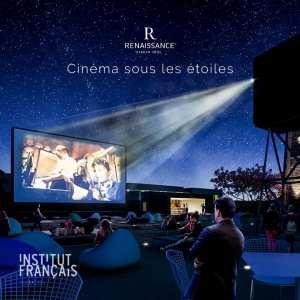 Hôtel Renaissance : Cinéma sous les étoiles