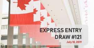 CANADA : Entrée Express 19-07-2019