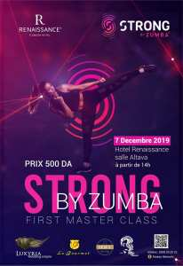 My First Master Class ( Strong By Zumba ) Organisé par Fitness.Tlemcen