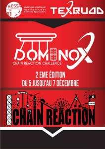 Dominox 2ème édition · Organisé par Tech Squad Club