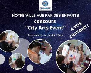 City Arts Event Public · Organisé par Atelier d'Art Plastique