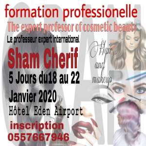 Oran 2020 formation professional Oran · Organisé par The expert professor of cosmetic beauty