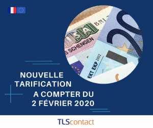 Les tarifs des visas de court séjour pour les Etats membres de l'espace Schengen vont changer