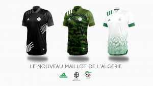 La Nouveau Maillot De L'algerie