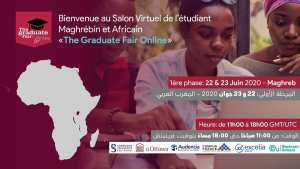 JUN 22 The Graduate Fair Online - Maghreb Organisé par The Graduate Fair.Online
