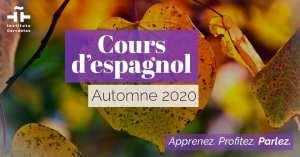 NOUVELLE SESSION DE COURS D'ESPAGNOL PAR VIDÉO CONFÉRENCE