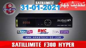 mise a jour récepteur et satellite SATILLIMITE 3030 3535 4040 6060 8080 F300 F400