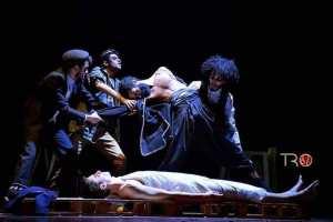 The game مسرحية Theatre Alloula