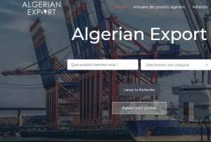 Algerian Export , une première plateforme dédiée aux exportateurs