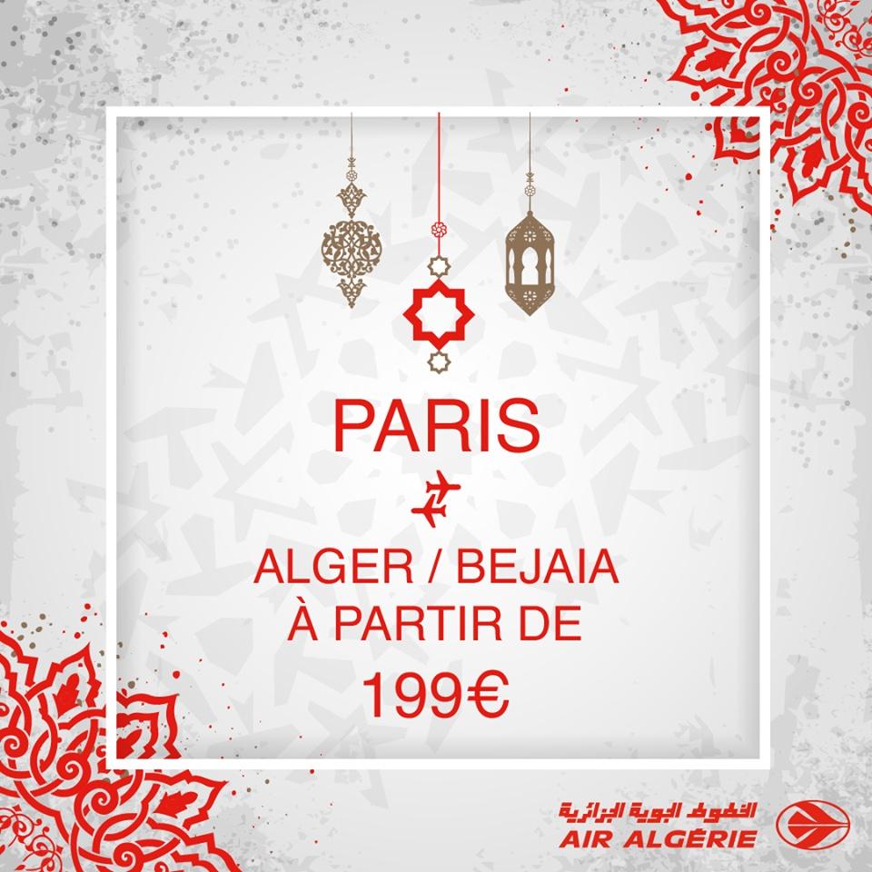 PROMOTION ✈️ Air Algérie