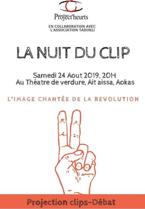 4eme édition de la nuit du clip organisée le 31 juillet dernier à la place Patrice Lumumba de Béjaïa