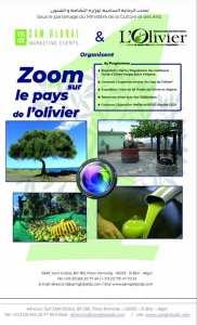 Evenement de l'année 2021, intitulé : ZOOM sur le pays de l'Olivier ,