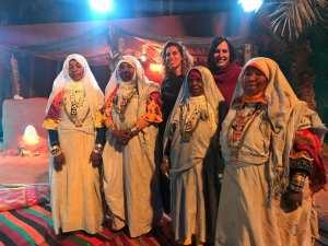 شاركت السفارة الألمانية في مشروع تبادل ثقافي في تميمون.
