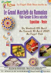 Le grand marché du ramadan : Vide grenier déco et vaisselle.