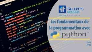 Python : les fondamentaux de la programmation