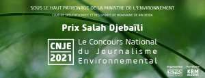 CNJE Algérie - le concours national du journalisme environnemental