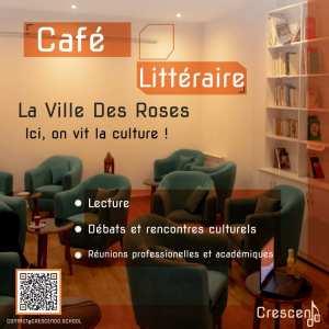 Café littéraire La ville des roses