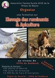 Association femme rurale AFUD de la wilaya de Béjaïa