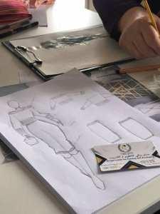 Fashion designer دورة تصميم الازياء