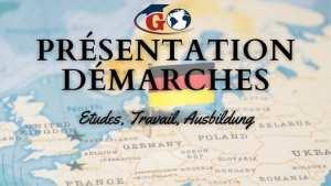 Présentation Démarches: Etudes, Ausbildung, Travail en Allemagne