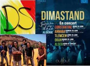 Groupe Dimastand: La chaleur du Sud en tournée