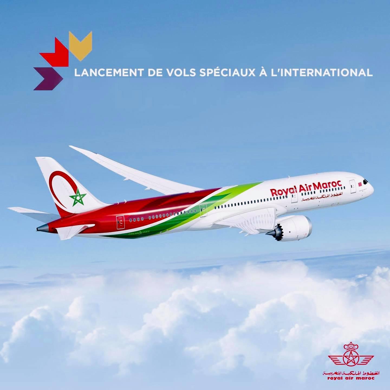 Programme détaillé des vols de rapatriements disponibles avec Royal Air Maroc au départ d'Alger⤵