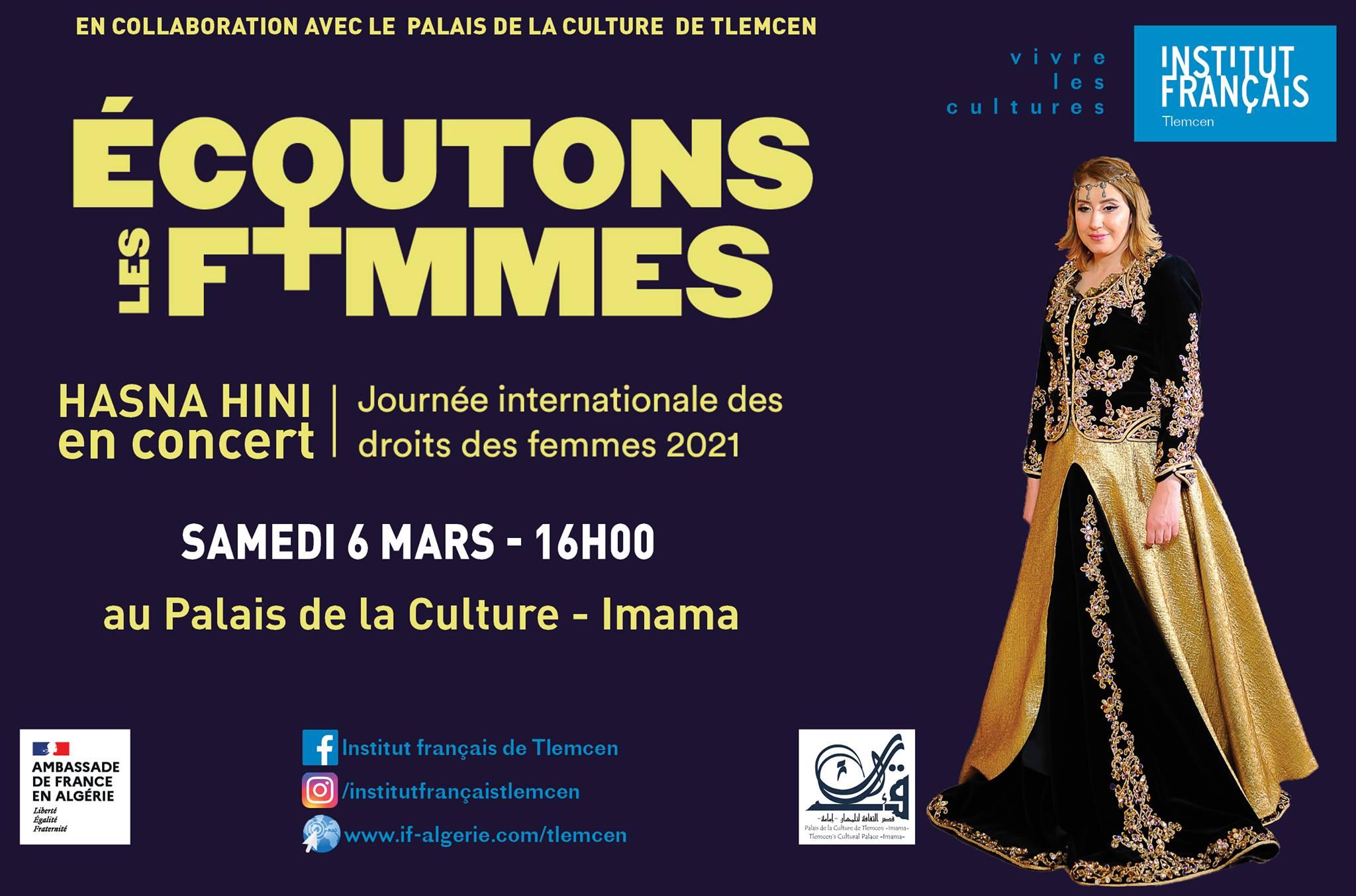 Concert : HASNA HINI Palais De Culture Imama