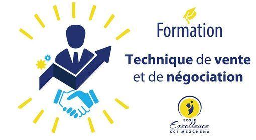 FORMATION TECHNIQUE DE VENTE & NEGOCIATION&