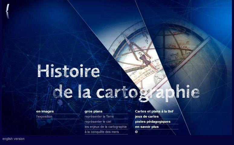 Histoire de la cartographie- Exposition en Ligne
