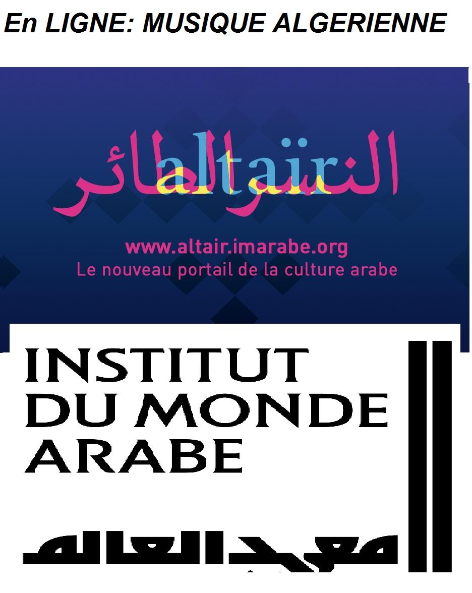 EN LIGNE: MUSIQUE ALGERIENNE- Institut du Monde Arabe