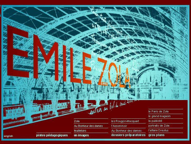 Émile Zola: exposition virtuelle