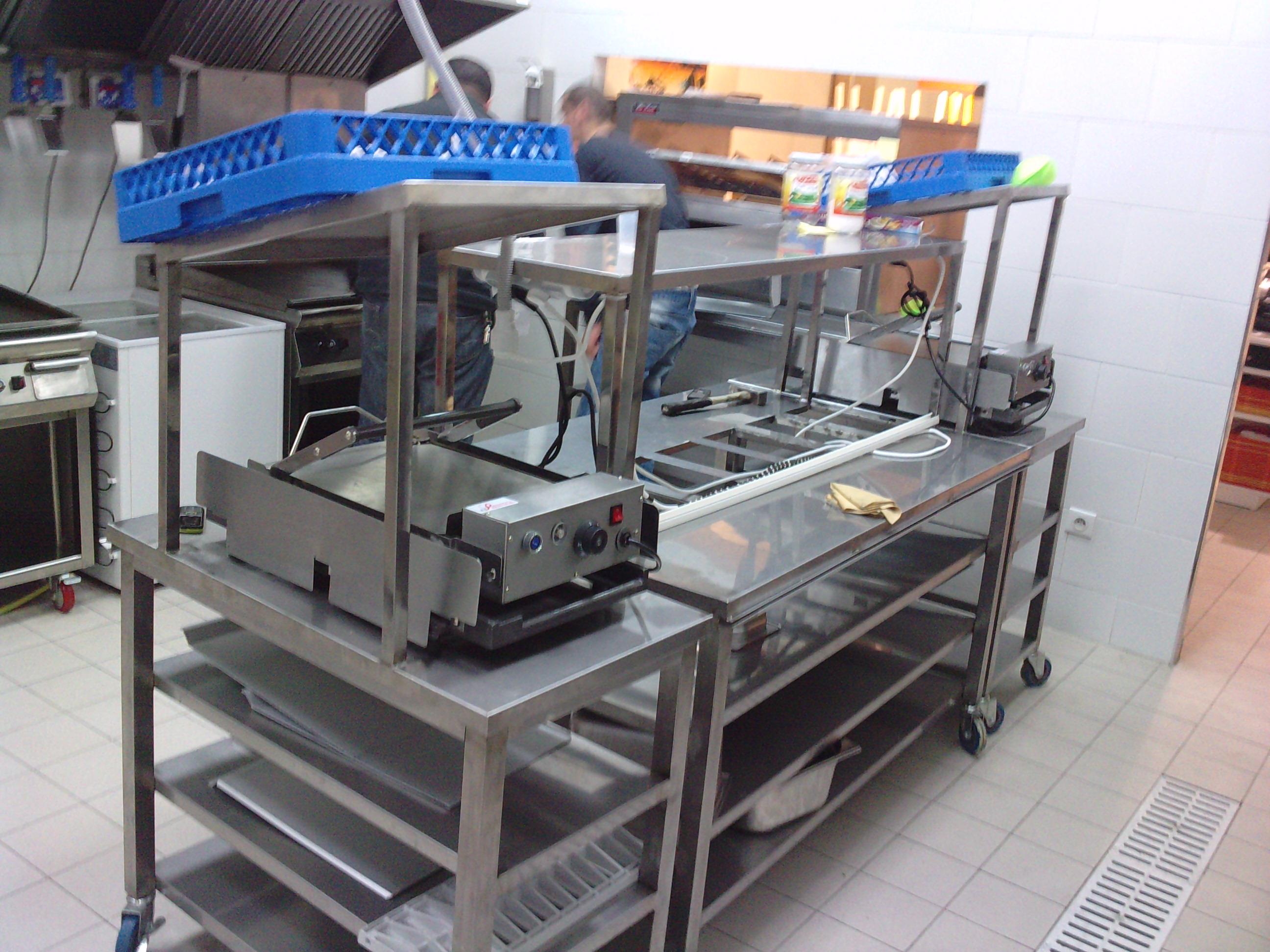 fabricant de materiel pour restaurants et cuisine de