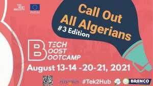 Appel à candidature Le #B_TECH revient dans sa 3ème édition les 13-14 & 20-21 Août 2021